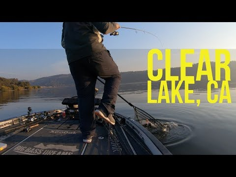 Fishing On Clear Lake With Dave From Lakeport Bait And Tackle - Part 1