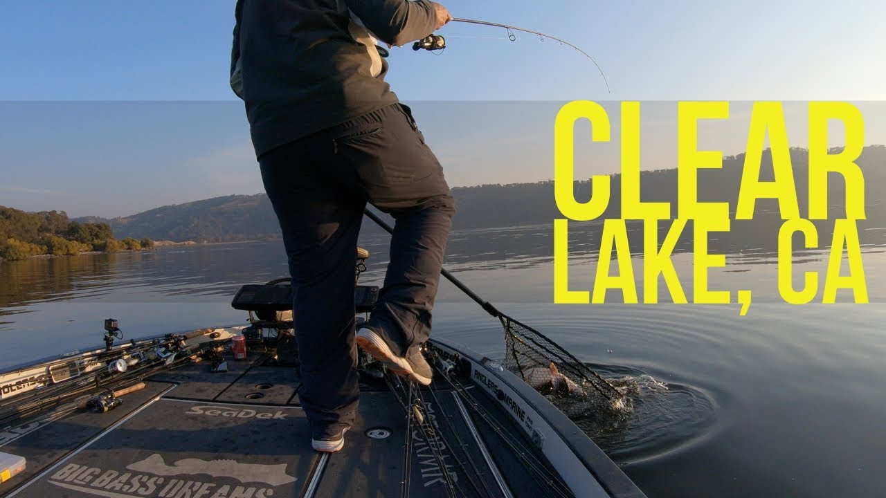 Fishing On Clear Lake With Dave From Lakeport Bait And Tackle Part 1 Youtube