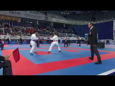 14 Yaşlı Karateçimiz Avropa çempionatında Erməniyə Belə Qalib Gəldi