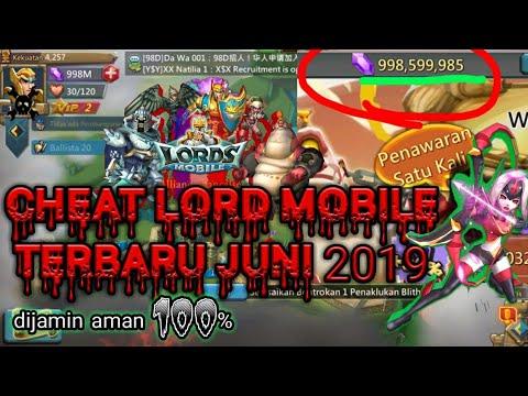 Cheat Lord Mobile Terbaru 2019 Plus Link Nya Dijamin 100% Berhasil