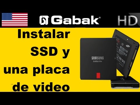 Como instalar SSD y placa de video en hp workstation z600