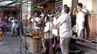 Andean Fusion live band @ Rivercenter Mall San Antonio TX