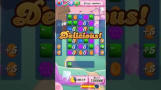 Candy Crush Saga Level 725 - NO BOOSTERS