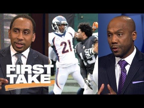 First Take reacts to Aqib Talib