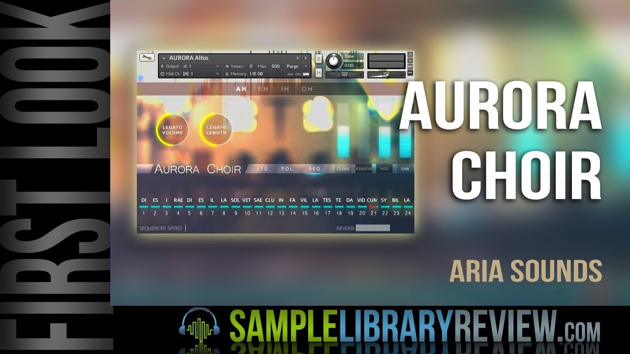 Aurora Choir V2 - Kontakt Library