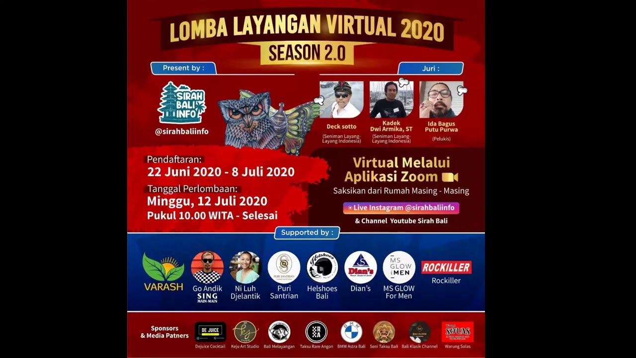 Download LOMBA LAYANGAN VIRTUAL 2020 season 2.0 || Sirah Bali Info