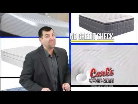 Carl's Furniture   Buy it Today, Get it Today (mattress sets)