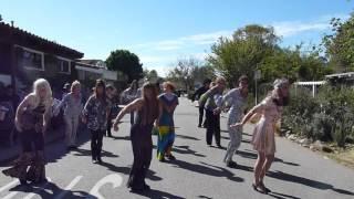 Get Down Tonight 70's Disco Cambria Flash Mob