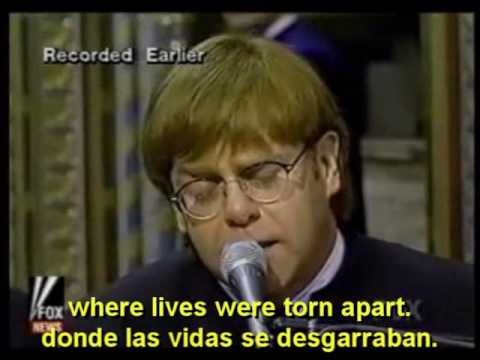 ELTON JOHN  CANDLE IN THE WIND English  Español  Lyrics  Subs