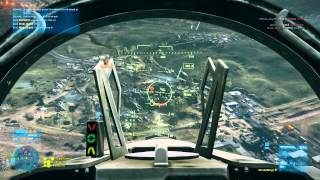 BF3 - F18 Caspian Border Gameplay