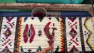 Pasar Mandiri Indonesia - Pelatihan Menenun Songket