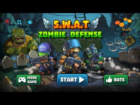 S.W.A.T. Zombie Defense - Stage 9