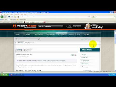 How To Create A Website With Joomla