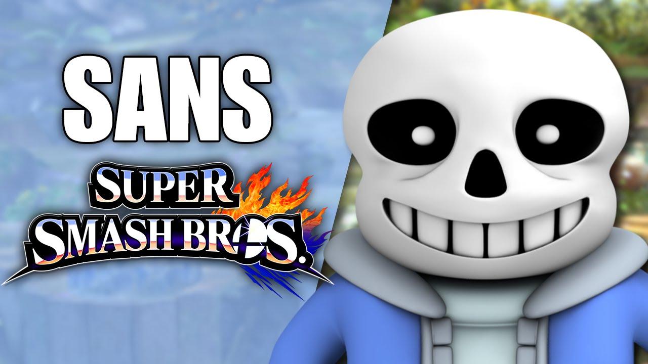 How to install sans undertale skin download sans undertale skin - Sans Undertale In Super Smash Bros Smash 4 Wii U Mod Skin Showcase Youtube