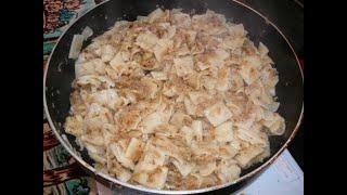 Káposztás Tészta -cabbage And Noodles Kohl Und Nudeln