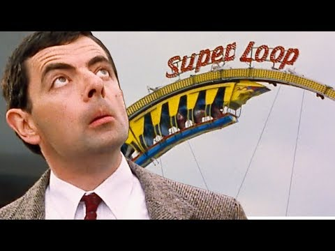 Rollercoaster Bean   Funny Clips   Mr Bean Official