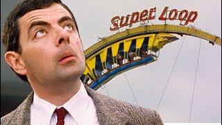 Rollercoaster Bean | Funny Clips | Mr Bean Official