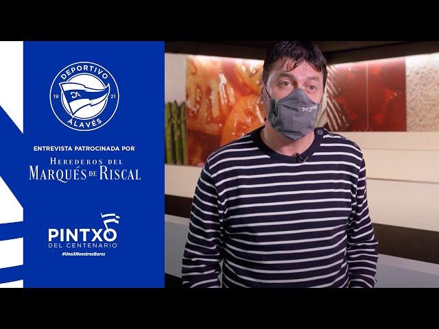 Jurado del pintxo del Centenario, Rodolfo Villate | Escuela de Hostelería Egibide - Mendizorrotza