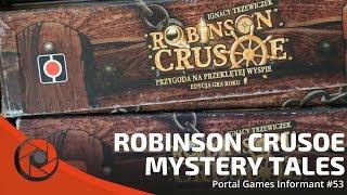 Portal Games Informant #53 - Robinson Crusoe - Mystery Tales
