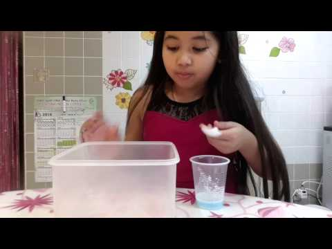 How to make slime with clear glue!