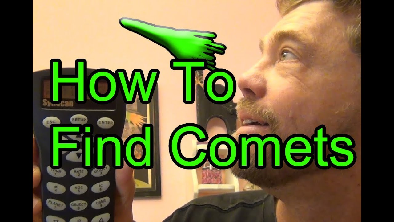How To Find Comets With Your Telescope Mount & Stellarium