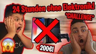 😱24 *STUNDEN* ohne ELEKTRONIK Challenge um 200€! | Can Wick