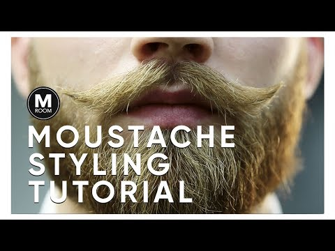 CLASSIC MOUSTACHE STYLING TUTORIAL