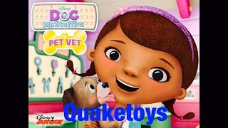 New Doc Mcstuffins Game Disney Junior Pet Vet App First Look Play And Review!