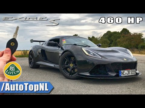 460HP Lotus Exige S REVIEW POV Drive AUTOBAHN & ROAD by AutoTopNL