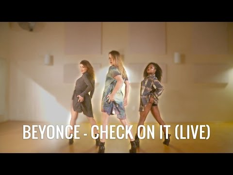 Beyonce - Check Up On It (Live)   Dance Choreography by Janelle Ginestra