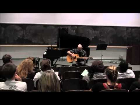 Fitchburg State University Music: Paul Luria performs