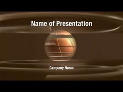Basketball Game Powerpoint Video Template Backgrounds