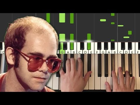 elton-john---rocket-man-(piano-tutorial-lesson)