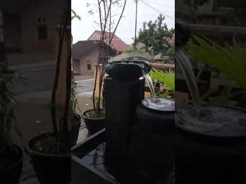 air mancur minimalis - youtube