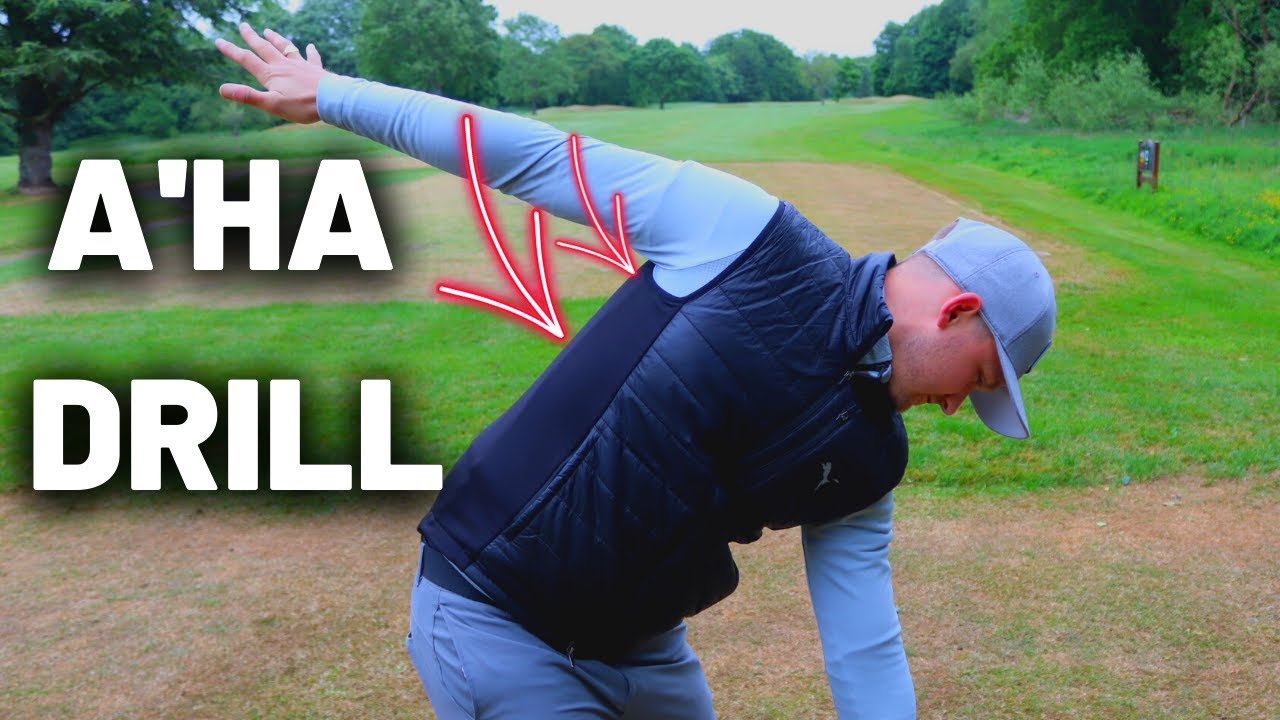 Do THIS To Get That A'HA Golf Swing Feeling! SUPER SIMPLE Arm Drill!