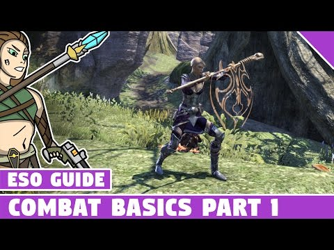 ESO Combat Basics for Beginners - Elder Scrolls Online, how to block, bash, interrupt and more!