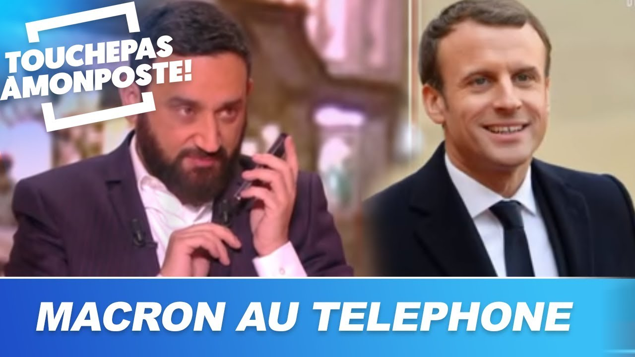 Cyril Hanouna Souhaite Un Joyeux Anniversaire A Emmanuel Macron