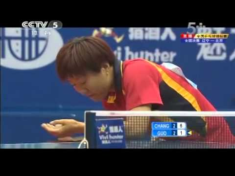 2012 China National Championships (WT-F/game5) CHANG Chenchen - GUO Yan [Full*/Chinese]