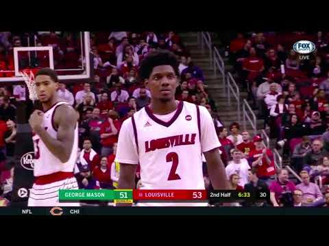 Darius Perry Louisville vs George Mason |11.12.17| 17 Pts, Spark Plug!