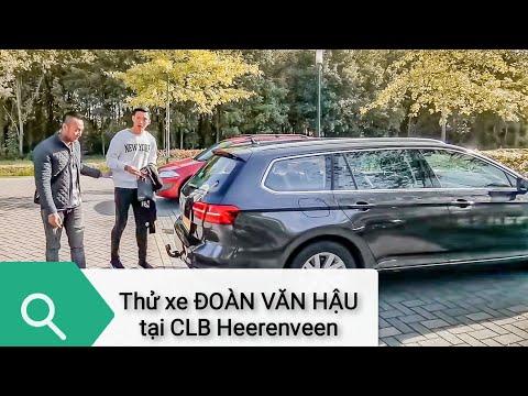 Xe ô tô của Đoàn Văn Hậu được CLB Heerenveen cấp đây nhé | XE HAY