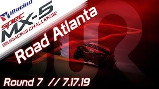 2019 SPEC MX-5 SimRacing Challenge || iRacing || Road Atlanta - Round 7