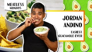 Easiest Guacamole Ever | Meatless Mondays - Jordan Andino