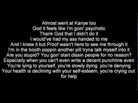 Eminem - Talkin' 2 Myself Ft.Kobe Lyrics