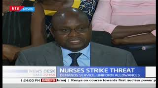 Kenyan nurses issue strike notice over unpaid allowances