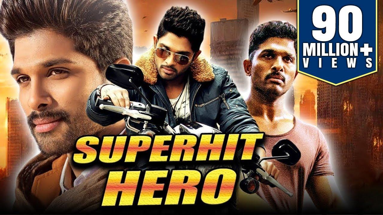 Superhit Hero 2019 Telugu Hindi Dubbed Full Movie Allu Arjun Gowri Munjal Prakash Raj