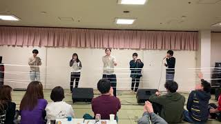 春合宿2020飲み会にて 神戸大学アカペラサークルGhannaGhanna #アカペラ #ガーナガーナ.
