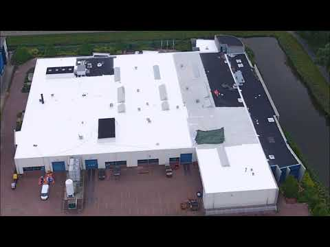 Enduris 3500 Roof Renovation - 6200m2 project in the