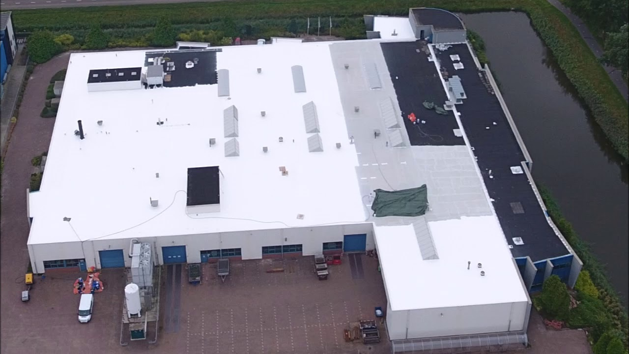 Enduris 3500 Roof Renovation - 6200m2 project in the Netherlands