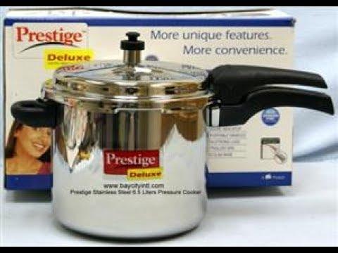 1de3defa0c2 Prestige Deluxe Alpha Stainless Steel Pressure Cooker