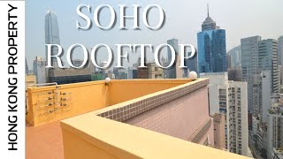 PRIVATE ROOFTOP UNIT IN PRIME SOHO LOCATION | Hong Kong